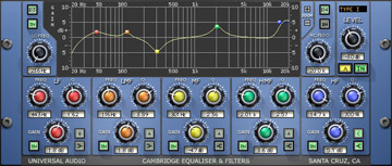Cambridge 5 band EQ